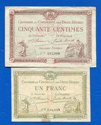 Deux  Sévres  2  Billets - Cámara De Comercio