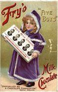 MISTLETOE OLEOMARGARINE   FIVE BOYS - Publicité
