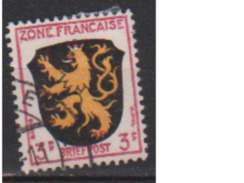 ALLEMAGNE OCCUPATION FRANCAISE        N°  2       OBLITERE  ( O 483 ) - Zone Française
