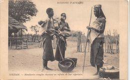 ¤¤ -   SOUDAN   -  Mendiantes Aveugles Chantant Un Refrain De Leur Répertoire      -  ¤¤ - Sudan