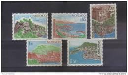 Monaco Timbres  De 1978 Neufs ** Serie Complète N°1147 A 1151 - Monaco