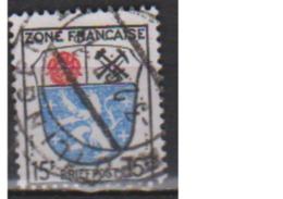 ALLEMAGNE OCCUPATION FRANCAISE        N°  7      OBLITERE  ( O 487 ) - Zone Française