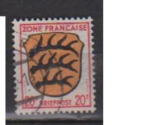 ALLEMAGNE OCCUPATION FRANCAISE        N° 8      OBLITERE  ( O 488 ) - Zone Française