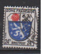 ALLEMAGNE OCCUPATION FRANCAISE        N°   9      OBLITERE  ( O 489 ) - Zone Française