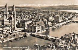ZÜRICH - Grossmünster, Helmhaus Und Utoquai - Kleinformat, Petit Format, Formato Piccolo - ZG Zoug