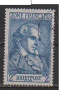 ALLEMAGNE OCCUPATION FRANCAISE        N°   12      OBLITERE  ( O 492 ) - Zone Française