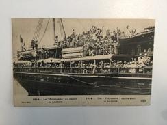 AK   THE POLYNESIAN  ON THE START  AT SAIGON - Französisch-Polynesien