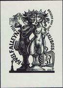 Schaken Schach Chess Ajedrez - EX LIBRIS - Karel Falleyn - Ex-libris