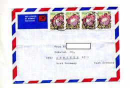 Lettre Cachet Ixopo Sur Fleur - Afrique Du Sud (1961-...)