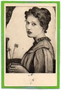 Ferd. Hodler, Mädchenbildnis (1903) - Zürich, Kunsthaus - Kleinformat, Petit Format, Formato Piccolo - ZG Zoug