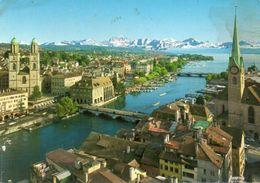 Zürich Und Die Alpen - Zurich Et Les Alpes - Zurich Ant The Alps - Schweiz/Suisse/Svizzera/Switerland - ZG Zoug