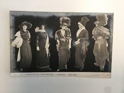 AK   MODA  FASHION   SILHOUETTES PARISIENNES - Silhouettes
