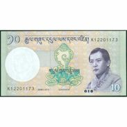 TWN - BHUTAN 29b - 10 Ngultrum 2013 Prefix K UNC - Bhutan