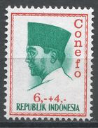 Indonesia 1965. Scott #B171 (MH) President Sukarno, Président - Indonésie