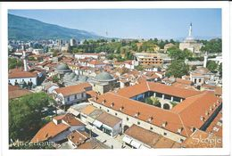 Macedonia Skopje.Panorama.mosques. UNUSED POSTCARD - Macédoine