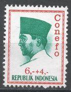 Indonesia 1965. Scott #B171 (MNG) President Sukarno, Président - Indonésie