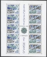 Monaco Bl.50** EUROPA CEPT, SPACE RESEARCH - Neufs