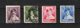 1930 - Roy Michel  M No 356/359 (petit Format) - 1918-1948 Ferdinand I., Charles II & Michel