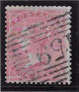 Grande Bretagne N°17 - Oblitéré - Filigrane Moyenne Jarretière - TB - Unclassified