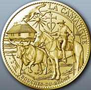 13 BOUCHES DU RHÔNE LA CAMARGUE MÉDAILLE ARTHUS BERTRAND 2012 PAS MONNAIE DE PARIS JETON MEDALS TOKEN COINS MONNAIE - Arthus Bertrand