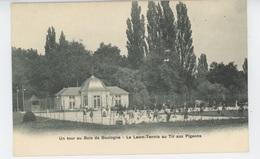 PARIS - XVIème Arrondissement -  Un Tour Au Bois De Boulogne - Le Lawn Tennis Au Tir Aux Pigeons - Paris (16)