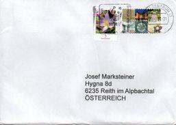 Auslands - Brief Von Briefzentrum 13 Mit 150 Cent Mischfrankatur + Werbestempel WWF 2017 - BRD