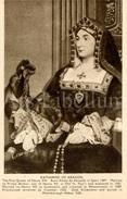 CPA / Postcard / Katharine Of Aragon / Coronation Series / Queens Of England / Madame Tussaud / Unused - Femmes Célèbres