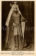 CPA / Postcard / Mathilda Of Flanders / Coronation Series / Queens Of England / Madame Tussaud / Unused - Femmes Célèbres