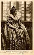 CPA / Postcard / Elizabeth, Queen Regnant Of England / Coronation Series / Queens Of England / Madame Tussaud / Unused - Femmes Célèbres