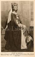 CPA / Postcard / Philippa Of Hainault / Coronation Series / Queens Of England / Madame Tussaud / Unused - Femmes Célèbres