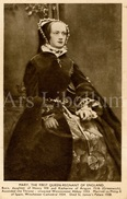 CPA / Postcard / Mary, First Queen-regnant Of England / Coronation Series / Queens Of England / Madame Tussaud / Unused - Femmes Célèbres