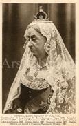 CPA / Postcard / Victoria, Queen-regnant Of England / Coronation Series / Queens Of England / Madame Tussaud / Unused - Femmes Célèbres
