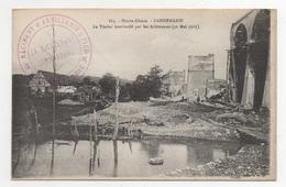 68 HAUT RHIN - DANNEMARIE Viaduc Bombardé, Cachet Militaire - Dannemarie