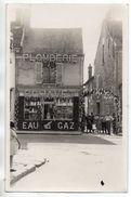 Carte-photo - ETRECHY - Magasin Plomberie Eau Et Gaz P. Chavet - 41 Grande Rue - Fête ... - Etrechy
