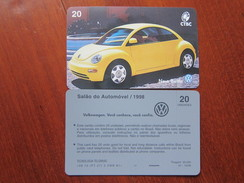Inductive Phonecard,Volkswagen, Mint,issued In 1998, 30000pcs Only - Brésil