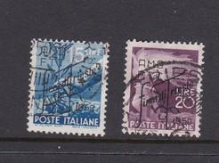 Trieste Allied Military Government S 81-82  1950 2nd Trieste Fair Used - 7. Trieste