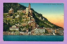 Lago Di Lugano. Morcote - TI Tessin