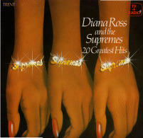 * LP *  DIANA ROSS AND THE SUPREMES - 20 GREATEST HITS - Soul - R&B