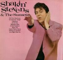 * LP *  SHAKIN' STEVENS & THE SUNSETS - SAME (England 1981 EX!!!) - Rock