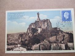 HAUTE LOIRE  43   LE PUY   -   LE  ROCHER  CORNEILLE ...       TTB - Le Puy En Velay