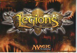 MAGIC THE GATHERING LEGIONS PRE RELEASE TOURNAMENTS 2003 WIZARDS OF THE COAST - Giochi, Giocattoli