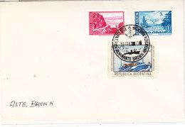 Argentina 1972 Antartica / Base Almirante Brown Ca 22 Feb 1972 Cover (36408) - Argentinië