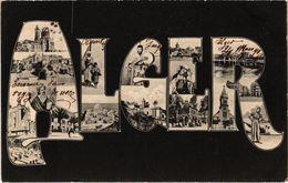 ALGERIE - ALGER - Vues Multiples - Carte Postée - Algiers