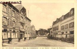 LE CROTOY HOTEL DU COMMERCE ET SON ANNEXE GARAGE DU COMMERCE 80 - Le Crotoy