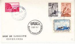 Argentina 1973 Antarctica / Base De Ekercito Esperanza Ca 15 Jul 73 Cover (36409) - Argentinië