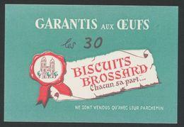 Buvard - BISCUITS BROSSARD - Blotters