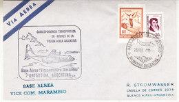 Argentina 1974 Antarctica / Base Aerea Vice Com. Marambio Ca 26 Nov 1974 Cover (36410) - Argentinië