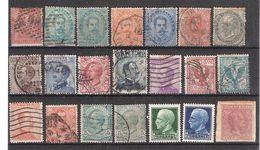 ITALIA / Italie / Italy / Italien Lot De 21 Classiques Neufs Et Oblitérés , Ensemble B/TB - Collections