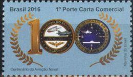 Brasil 2016 ** Centenario De La Aviacion Naval. See Desc. - Unused Stamps