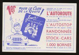 Buvard - JOUEZ Aux Jeux De Notre Temps - Autoroute - Blotters